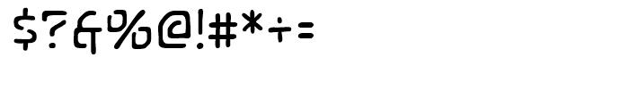Temporal Gap Regular Font OTHER CHARS