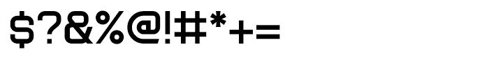 Tenby Six Regular Font OTHER CHARS