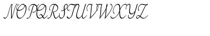 Tenison Regular Font UPPERCASE