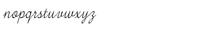 Tenison Regular Font LOWERCASE
