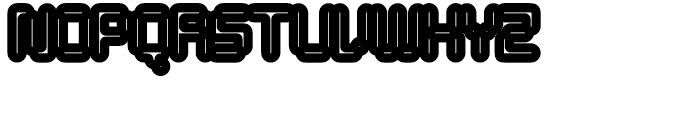 Tephra 138 Font UPPERCASE