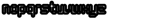 Tephra 138 Font LOWERCASE