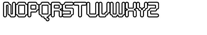 Tephra 50 Font UPPERCASE
