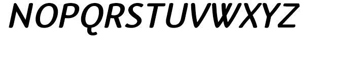 Terfens Bold Italic Font UPPERCASE