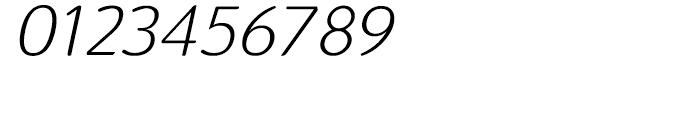 Terfens Light Italic Font OTHER CHARS