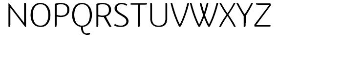 Terfens Light Font UPPERCASE