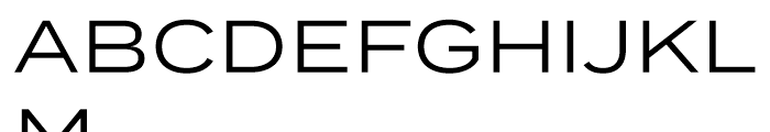 Termina Regular Font UPPERCASE