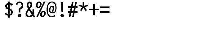 Terminax Regular Font OTHER CHARS