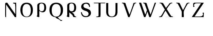 Tex Loose Regular Font UPPERCASE