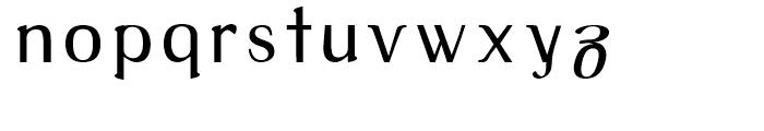 Tex Loose Regular Font LOWERCASE
