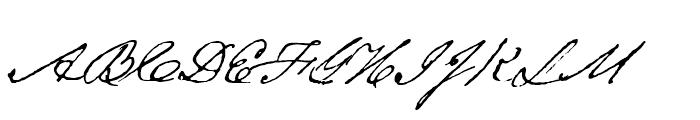 Texas Hero Regular Font UPPERCASE