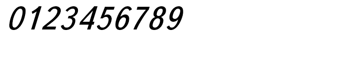 TextBook Italic Font OTHER CHARS