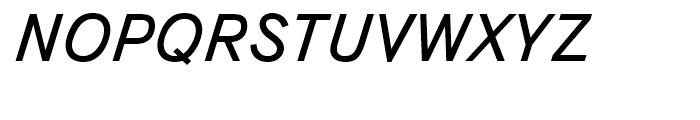 TextBook Italic Font UPPERCASE