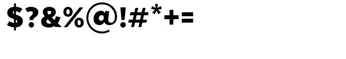 Texta Black Font OTHER CHARS
