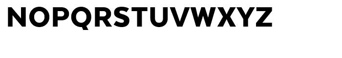 Texta Black Font UPPERCASE