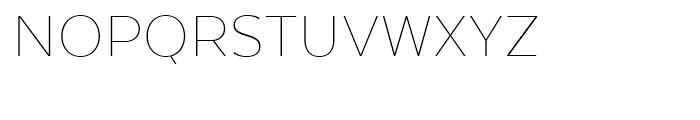 Texta Thin Font UPPERCASE