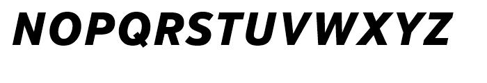 Textbook New ExtraBold Italic Font UPPERCASE