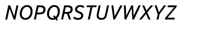 Textbook New Italic Font UPPERCASE
