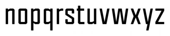 Tecnica Bold Font LOWERCASE