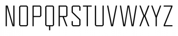 Tecnica Regular Font UPPERCASE