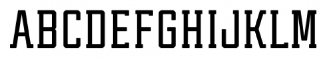 Tecnica Slab Bold Font UPPERCASE