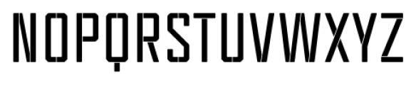 Tecnica Stencil 1 Bold Font UPPERCASE