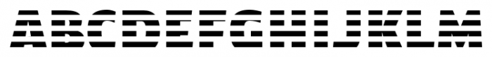 TextTile HstripeEfull Font LOWERCASE