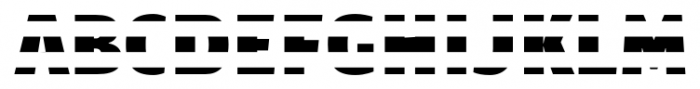 TextTile HstripeFfull Font UPPERCASE