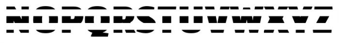 TextTile HstripeFfull Font LOWERCASE
