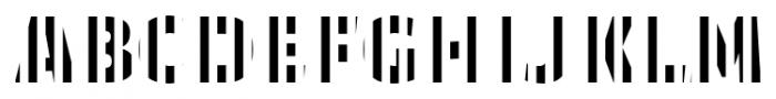TextTile VstripeEfull Font LOWERCASE