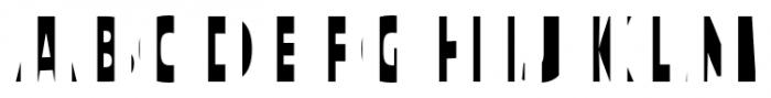 TextTile VstripeFfull Font LOWERCASE
