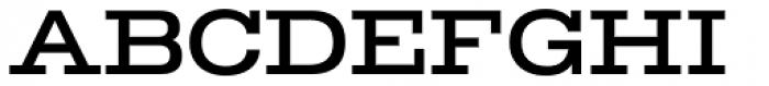 TEMPER Wide 45 Font UPPERCASE