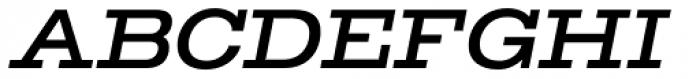TEMPER Wide 46 Font UPPERCASE