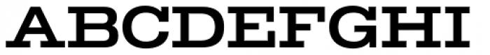 TEMPER Wide 55 Font UPPERCASE