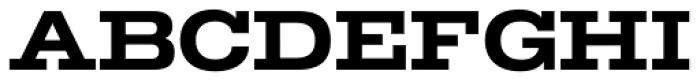 TEMPER Wide 65 Font UPPERCASE