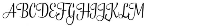 Tea Biscuit Regular Font UPPERCASE