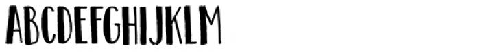 Teacup Closed Regular Font UPPERCASE