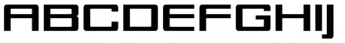 Technia 1 Font UPPERCASE