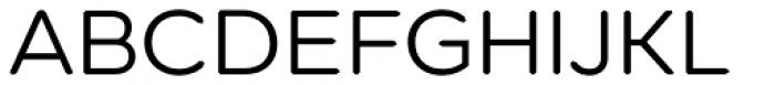 Technica Regular Font UPPERCASE
