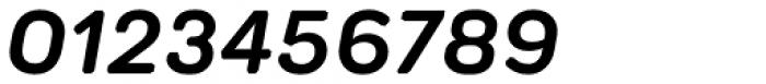 Technica Semi Bold Italic Font OTHER CHARS