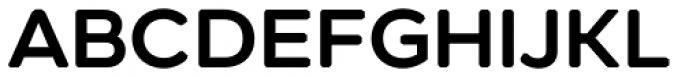 Technica Semi Bold Font UPPERCASE