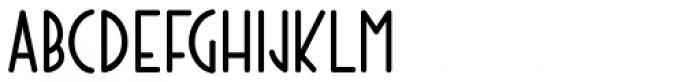 Technical Lettering JNL Font UPPERCASE