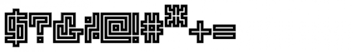 Technical Scripture Mix Stamp VS Font OTHER CHARS