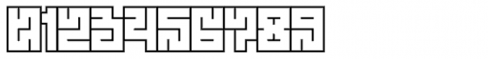 Technical Scripture Outline Font OTHER CHARS