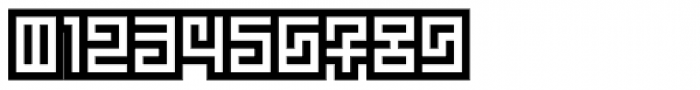 Technical Signature Inverse Font OTHER CHARS