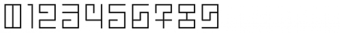 Technical Signature Light Font OTHER CHARS