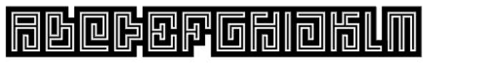 Technical Signature Mix Brand Font UPPERCASE