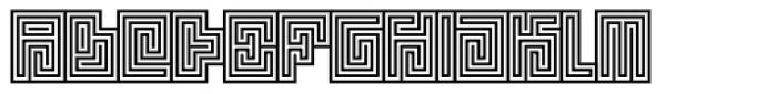 Technical Signature Mix Seal Font UPPERCASE