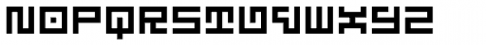 Technical Signature Font LOWERCASE