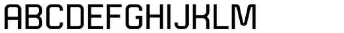 Technical Standard VP Regular Font UPPERCASE